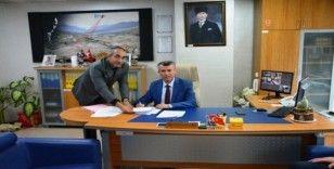 """Kaymakam Sırmalı, """"Edremit TDİOSB, Türkiyenin en hızlı kurulan organize sanayi bölgesidir"""""""