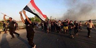 Irak protestoları sürüyor
