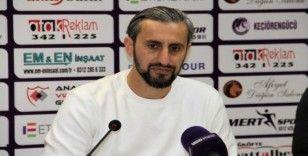 """Serkan Özbalta: """"Çok yakın mesafeden kaçırdığımız 5-6 net pozisyonumuz var"""""""