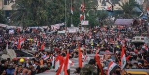 Irak'ta hükümet karşıtı gösteriler sürüyor