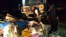 Çöpe attığı 10 bin lirayı dedektif gibi iz sürerek buldu