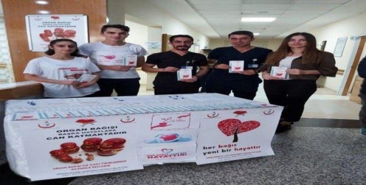 Özel Lokman Hekim Hayat Hastanesinde 'organ bağışı' kampanyası