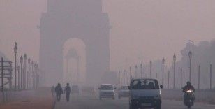 Hindistan'da son 3 yılın en yoğun hava kirliliği