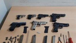 Gaziantep'te silah kaçakçılarına operasyon 3 gözaltı