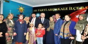 AK Parti genel başkan yardımcıları Akçakale'de