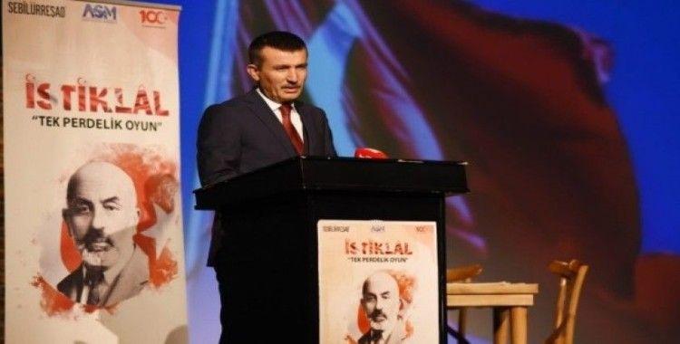 'İstiklal' oyunu Altındağ'dan yola çıktı