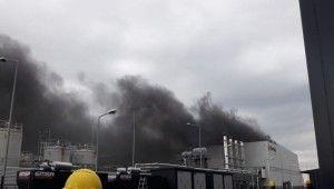 Kocaeli'de kimya fabrikasında patlama