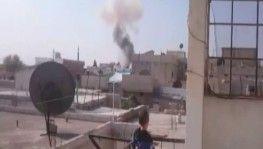 Tel Abyad'ta bomba yüklü araç patladı