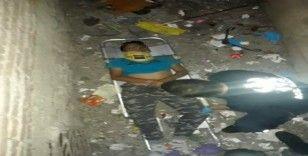 4. kattan havalandırma boşluğuna düşen çocuk ağır yaralandı