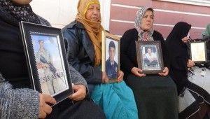 HDP önündeki evlat nöbeti 65'inci gününde