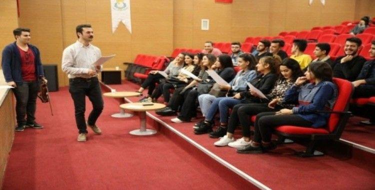 Haliliye'de Türk Halk Müziği korosu kuruluyor