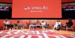 ING Türkiye olimpik kızların ilham veren hikayelerini sahneye taşıdı