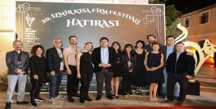 20. İzmir Kısa Film Festivaline dikkat çeken gala