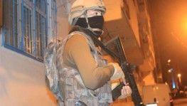 İstanbul'da gece vakti terör operasyonu