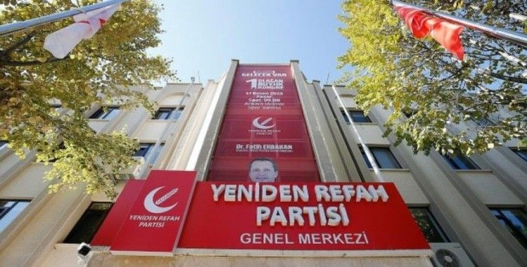Yeniden Refah Partisi'nde ilk büyük kongre heyecanı