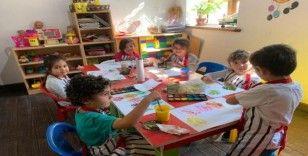 Kuşadası Belediyesi'nden minik öğrencilere okul öncesi eğitim