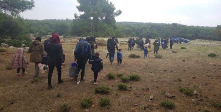 Çanakkale'de son 1 haftada 818 mülteci yakalandı