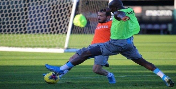 Trabzonspor'da, Aytemiz Alanyaspor maçı hazırlıklarını tamamladı