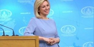 Zaharova bu kez NATO'yu Macron'un sözleriyle vurdu