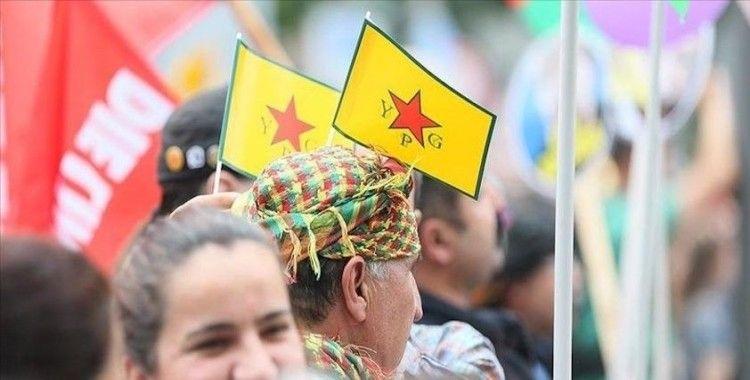 Almanya'da YPG'ye destek ayini