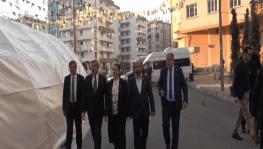 HDP önünde evlat nöbeti tutan ailelere vekillerinden destek