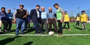Gaziler Semt Spor Sahası törenle açıldı