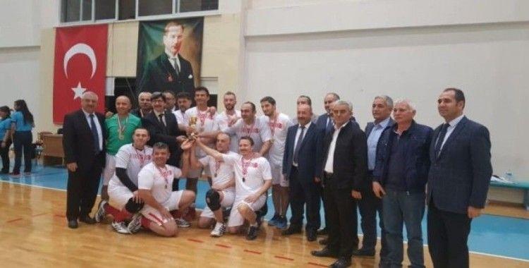 Simavlı öğretmenler Ege bölgesi şampiyonu oldu