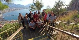 Avrupalı öğrenciler Alanya'da