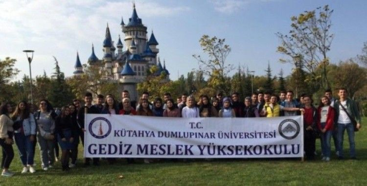 Gediz MYO öğrencileri Eskişehir'de