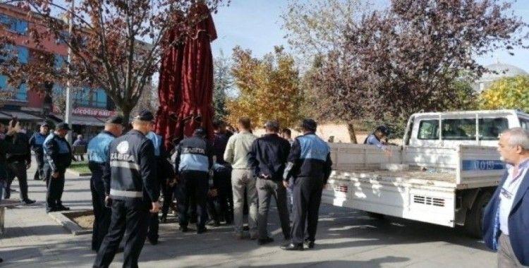 Gebze Belediyesi'nden zabıta ile vatandaşlar arasında çıkan arbede hakkında açıklama