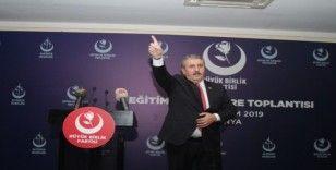 BBP lideri Mustafa Destici, 'ABD Temsilciler Meclisi'nde alınan kararların değeri yoktur'