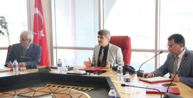 Rektör Uysal, DPÜ Birim Kalite Sorumluları ile bir araya geldi