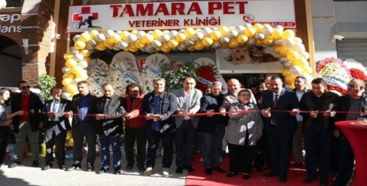Van'da Tamara Pet Veteriner Kliniği hizmete açıldı