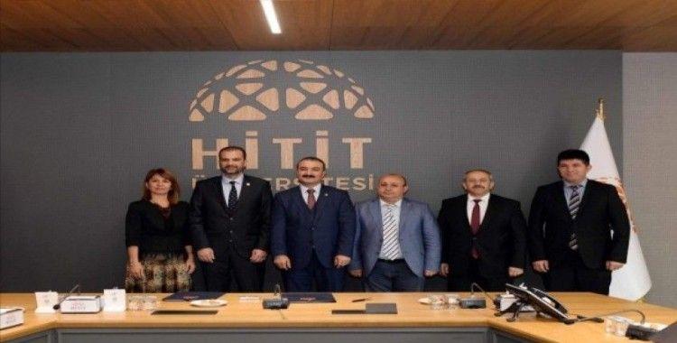 Hitit Üniversitesi ve ÇOSİAD'tan işbirilği protokolü