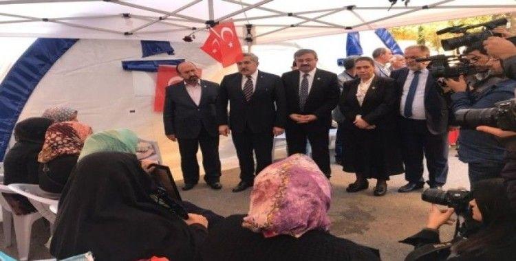 TBMM insan hakları inceleme komisyonu Diyarbakır annelerini ziyaret etti