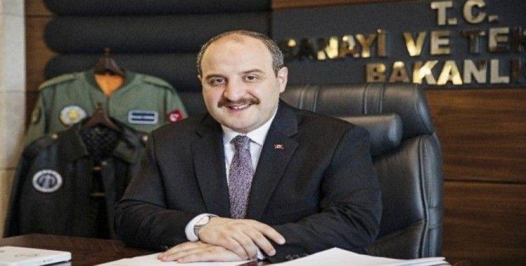 Sanayi ve Teknoloji Bakanı Varank fidan dikme törenine katılacak