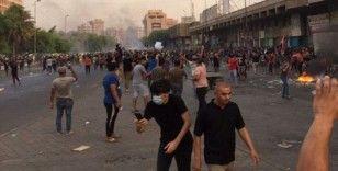 Irak'ta hükümet karşıtı protestolarda 1 kişi öldü, 260 kişi yaralandı