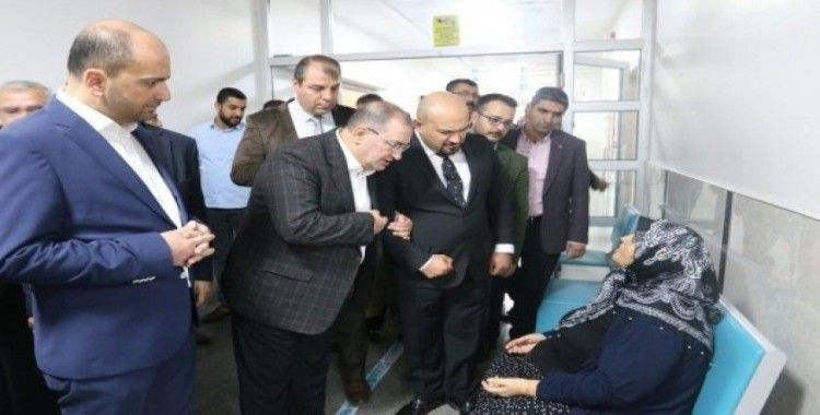 Devlet Hastanesi Başhekimi Kurtaran'a hayırlı olsun ziyareti