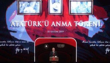 Gazi Mustafa Kemal Atatürk'ün Ebediyete İrtihalinin 81. Yıl Dönümü Anma Töreni