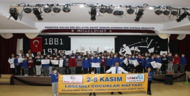 Özel Malatya Final Okullarından LÖSEV'e destek