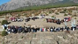 Kargı'da bin 111 fidan toprakla buluştu