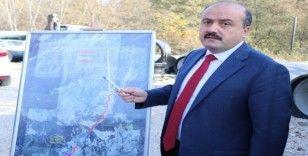Bakan Yardımcısı Metin, Karadere Tüneli'nde incelemede bulundu