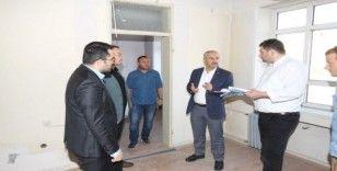Başkan Büyükgöz'den eski Adliye binasını inceledi