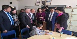 TBMM Araştırma Komisyonu üyeleri Aksaray'daki okulda inceleme yaptı
