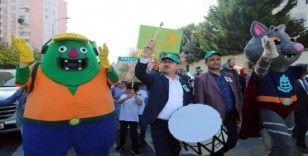 Başakşehir Belediyesi'nden 'Doğaya ve çevreye saygı' yürüyüşü