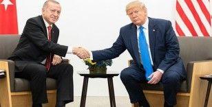 Trump'dan Erdoğan görüşmesinden ilk açıklama
