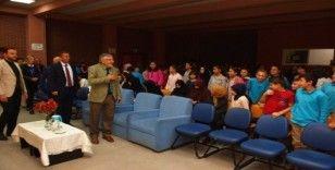 İnönü İHO ve Vehbi Koç Ortaokulu'ndan Mevlid-i Nebi programı