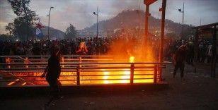 Şili'deki gösteriler 26. gününde devam etti