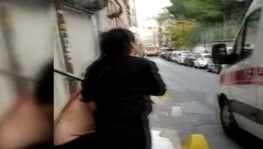 Şişli'de yabancı uyruklu şahıs sokak ortasına bıçaklandı
