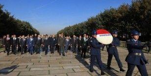 ASELSAN yönetiminden 44. kuruluş yıl dönümünde Anıtkabir'e ziyaret